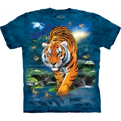 3D Tiger Dieren Kindershirt