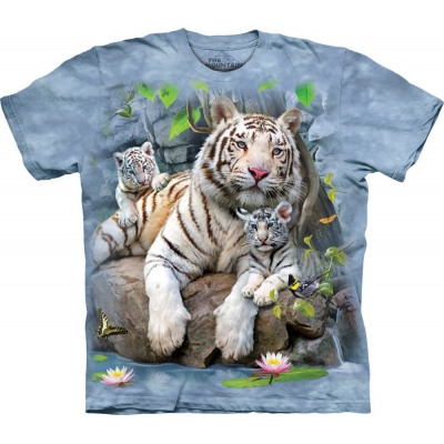 White Tigers Of Bengal Dieren Kindershirt