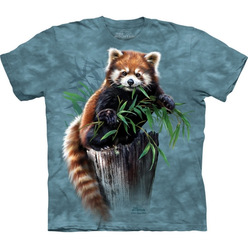 Bamboo Red Panda Dieren Kindershirt