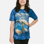 Sea Turtle Family Dieren Shirt