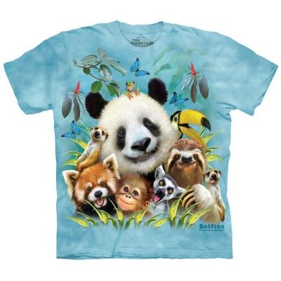 Zoo Selfie Kindershirt