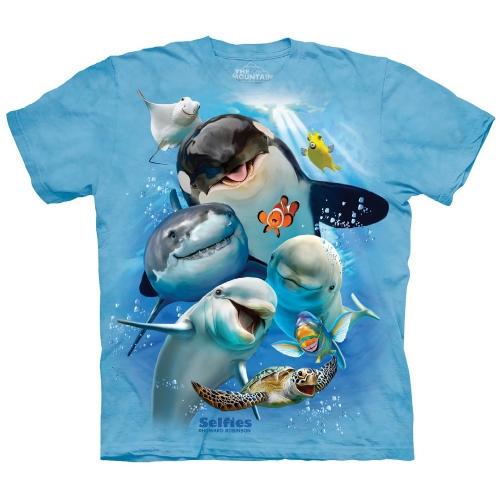 Ocean Selfie Kindershirt