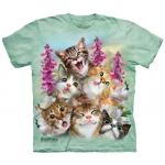 Kittens Selfie Kindershirt
