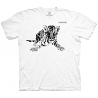 Tiger Cub Endangered Tijgershirt Kind