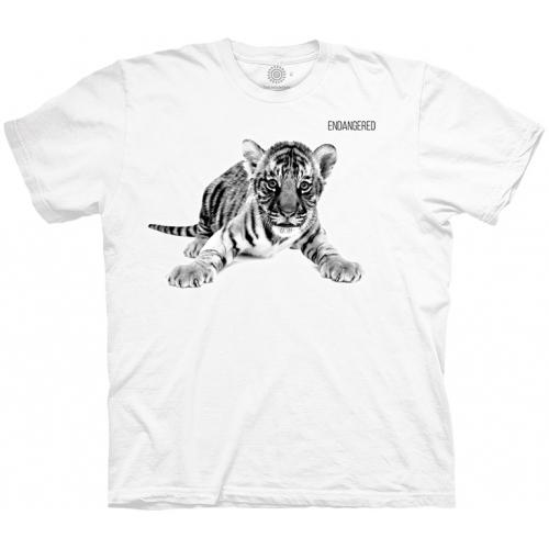 Tiger Cub Endangered Tijgershirt Kind