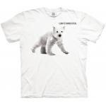 Polar Bear Cub Climate Change Kindershirt