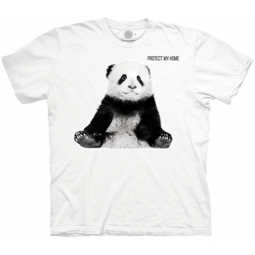 Panda Cub Protect My Home Kindershirt