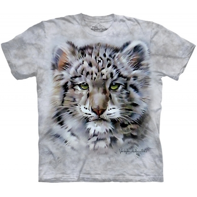 Baby Snow Leopard Kindershirt