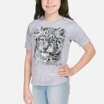Baby Snow Leopard Kindershirt