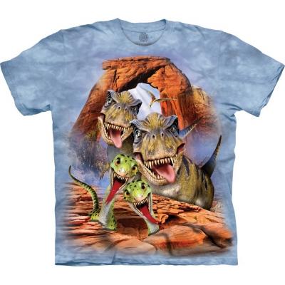 Dino Selfie Kindershirt