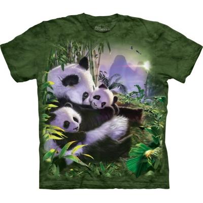 Panda Cuddles Kindershirt