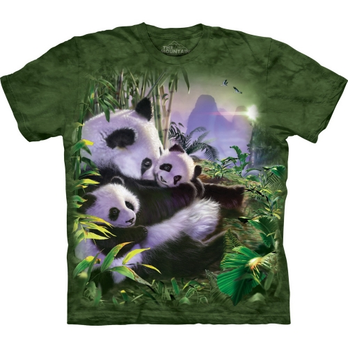 Panda Cuddles Kindershirt