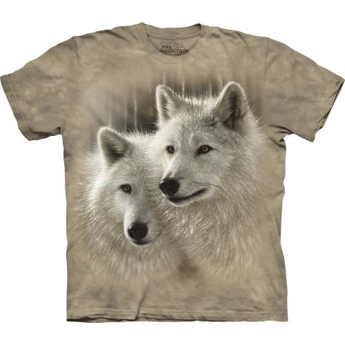 Sunlit Soulmates Wolfshirt Kind