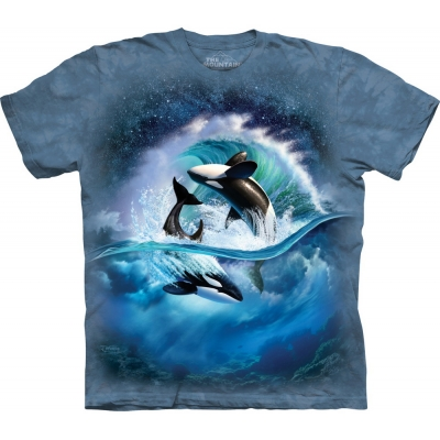 Orca Wave Kindershirt