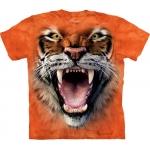 Roaring Tiger Face Tijgershirt Kind