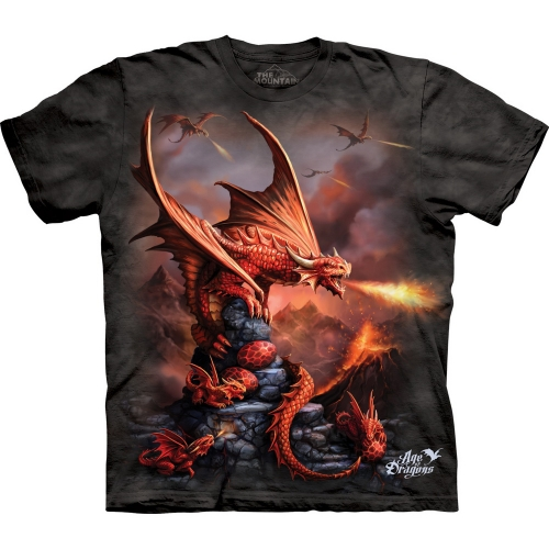 Fire Dragon Drakenshirt Kind