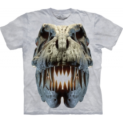 Silver Rex Skull Dinoshirt Kind