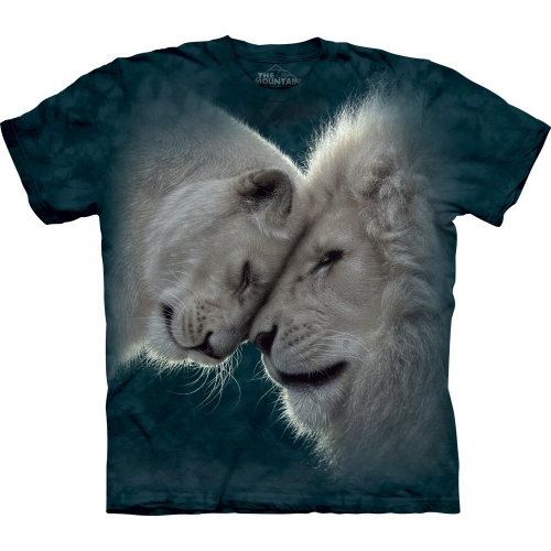 White Lions Love Leeuwenshirt Kind