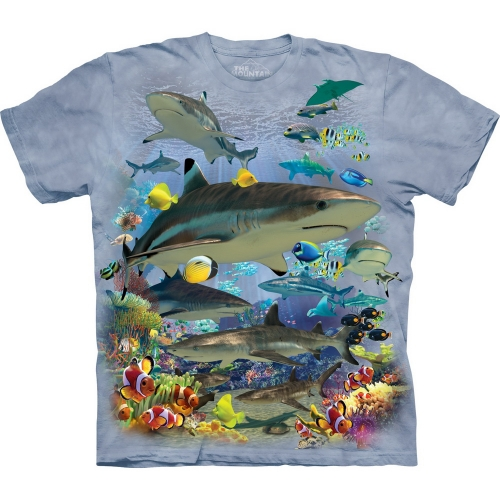Reef Sharks Haaishirt Kind