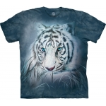 Thoughtful White Tiger Kindershirt