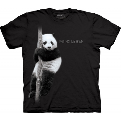 Panda Protect My Home Kindershirt