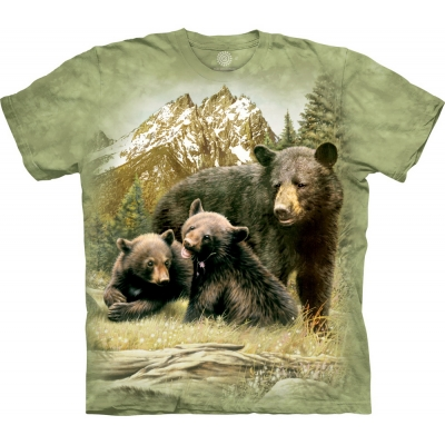 Black Bear Family Berenshirt Kind