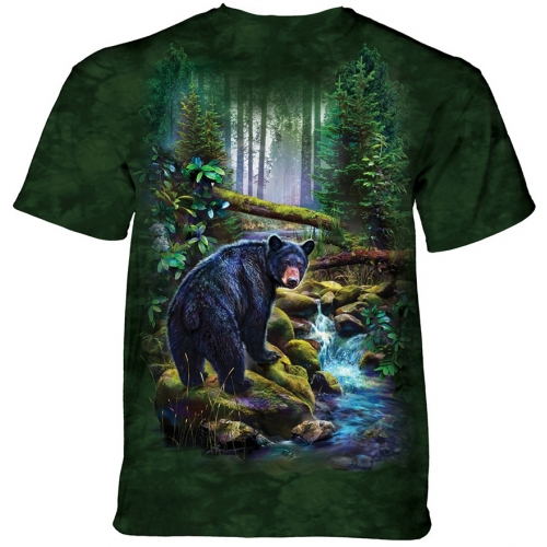 Black Bear Forest Berenshirt Kind