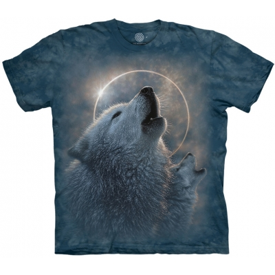 Wolf Eclipse Kindershirt