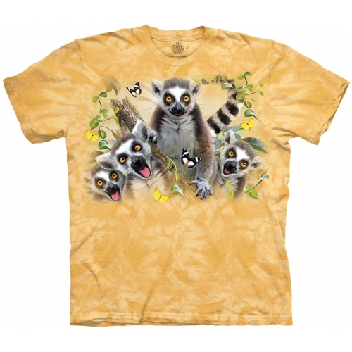 Lemur Selfie Makishirt Kind