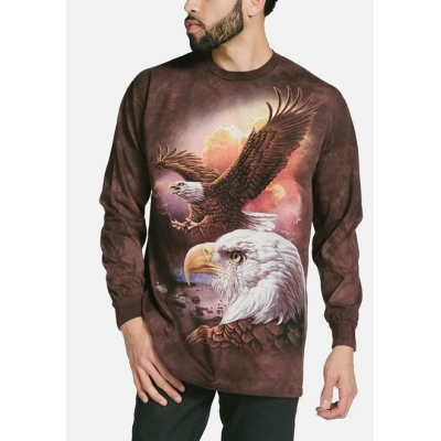 Eagle & Clouds Longsleeve