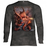 Fire Dragon Draken Longsleeve