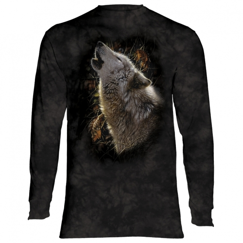Song of Autumn Wolf Longsleeve