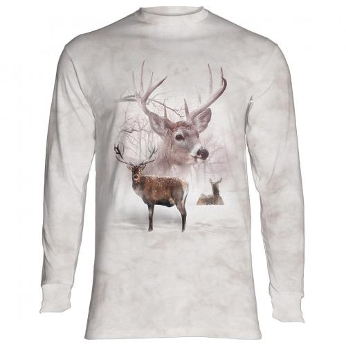 Wintertime Deer Dieren Longsleeve