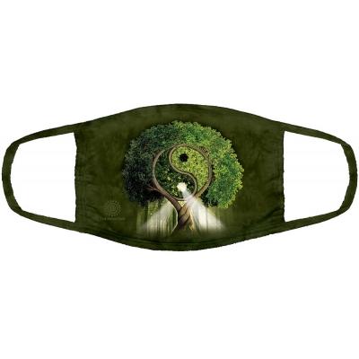 Yin Yang Tree Mondmasker