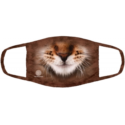 Striped Cat Mondmasker