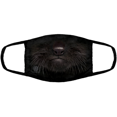 Black Kitten Mondmasker