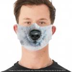 White Wolf Mondmasker