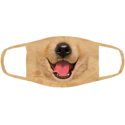 Golden Retriever Puppy Mondmasker