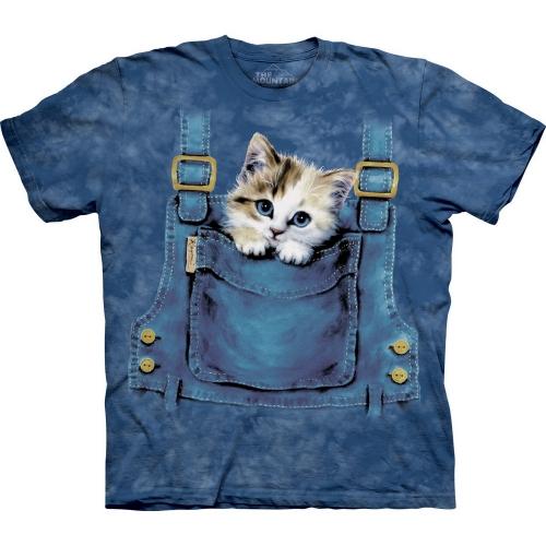 Kitty Overalls Katten Shirt