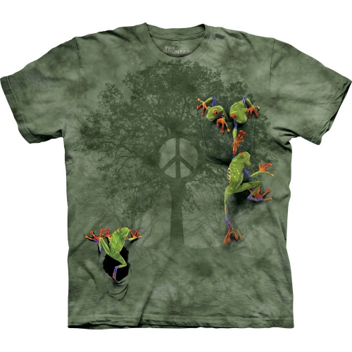 Peace Tree Frog Kikkershirt