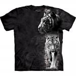 White Tiger Stripe Tijger Shirt
