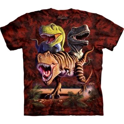 Rex Collage Dinosaurusshirt