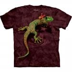 Peace Out Gecko Dieren Shirt