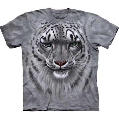 Snow Leopard Portrait Luipaard Shirt