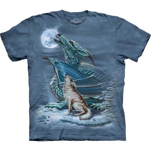 Dragon Wolf Moon Shirt