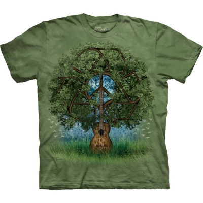 Guitar Tree Peace Shirt