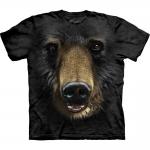 Black Bear Face Berenshirt