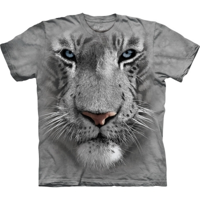 White Tiger Face Tijger Shirt
