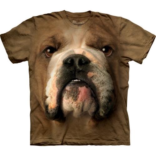 Bulldog Face Dieren Shirt