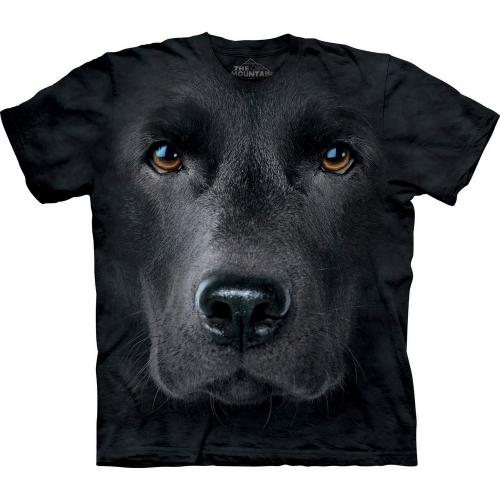 Black Lab Face Honden Shirt